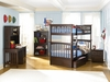 Columbia Twin/Twin Bunk Bed Atlantic Bedroom Furniture