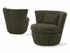Comfortable swivel chair living room # 1140