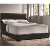 Conner Twin Upholstered Bed with Low Profile