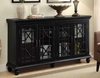 4-Door Accent Cabinet Antique # 950638