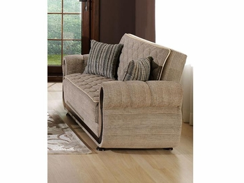 Contemporary Argos Loveseat Sleeper Living Room DC Stores