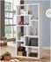 Contemporary Asymmetrical Cube Bookcase