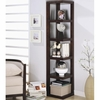Contemporary Corner Bookcase