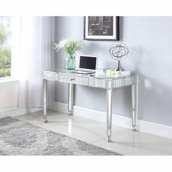 Contemporary Mirrored Writing Desk
