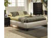 Contemporary Phoenix California King Upholstered Bed