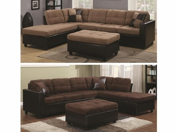 Mallory Upholstered Sectional # 505655