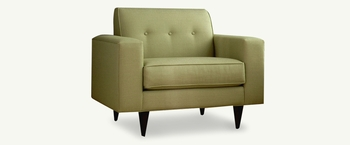 Contemporary Tight back sofa Living Room # 40510