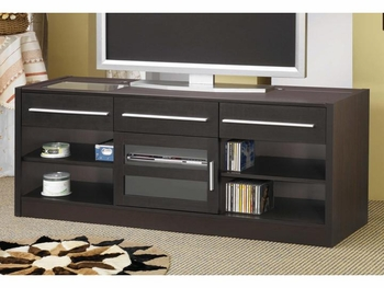 Contemporary TV Console with CONNECT-IT Power Drawer-RTA