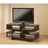 Contemporary TV Console with Open Storage