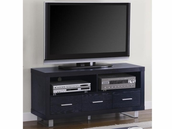 48″ 3-Drawer TV Console Black Oak # 700644
