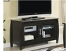 Contemporary TV Stands Media Console with Glass Doors