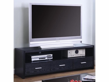 Contemporary TV Stands Media Console with Shelves and Drawers