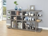 Contemporary Weathered Grey Bookcase/Console