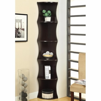 Corner Shelf Bookcase
