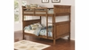 Coronado Bunk Bed Casual Wooden Full over Full Bunk Bed