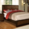 Corsica King bed