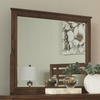 Cupertino Landscape Mirror w/ Wood Frame