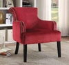 Curved Accent Chair