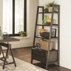 Deponte Industrial Tapering Bookcase with Two Drawers