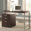 Desk with File Drawer and Reversible Set-Up
