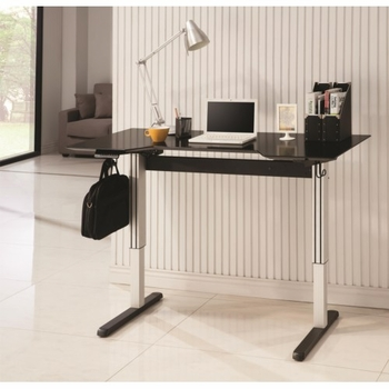 Desks Adjustable Height Desk for Seated or Standing Use