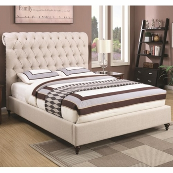 Devon Queen Upholstered Bed