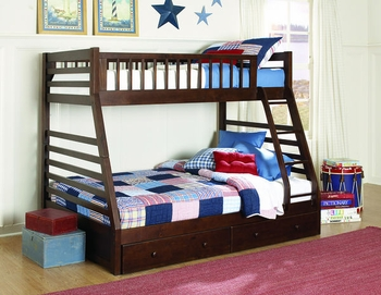Dreamland Twin/Full Bunkbed