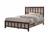 Edgewater Queen Industrial Panel Bed