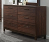 Edmonton Dresser with Six Dovetail Drawers