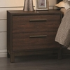 Edmonton Nightstand with Two Dovetail Drawers