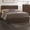 Edmonton Queen Bed with Wood Headboard