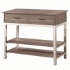 Eldridge Contemporary Server with 2 Drawers and 2 Shelves