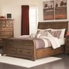 Elk Grove California King Sleigh Bed with 2 Drawers