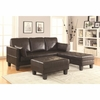 Ellesmere Contemporary Sofa Bed Group with 2 Ottomans
