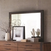 Ellison Industrial Dresser Mirror with Metal Frame
