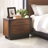 Ellison Industrial Nightstand with USB Ports