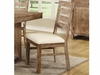 Elmwood Rustic Solid Wood Side Chair