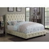Elsinore Upholstered Twin Bed with Button Tufting