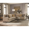 Emmett Two-Piece Sectional with Track Arms