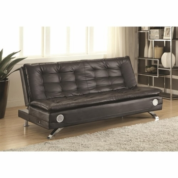 Erickson Sofa Bed with Bluetooth Speakers and Power Strip with USB