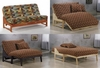 "Loveseat Full bed Eureka Full size 54"" Lounger standard Futon Frame"