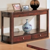 Evans Contemporary Sofa Table with Storage