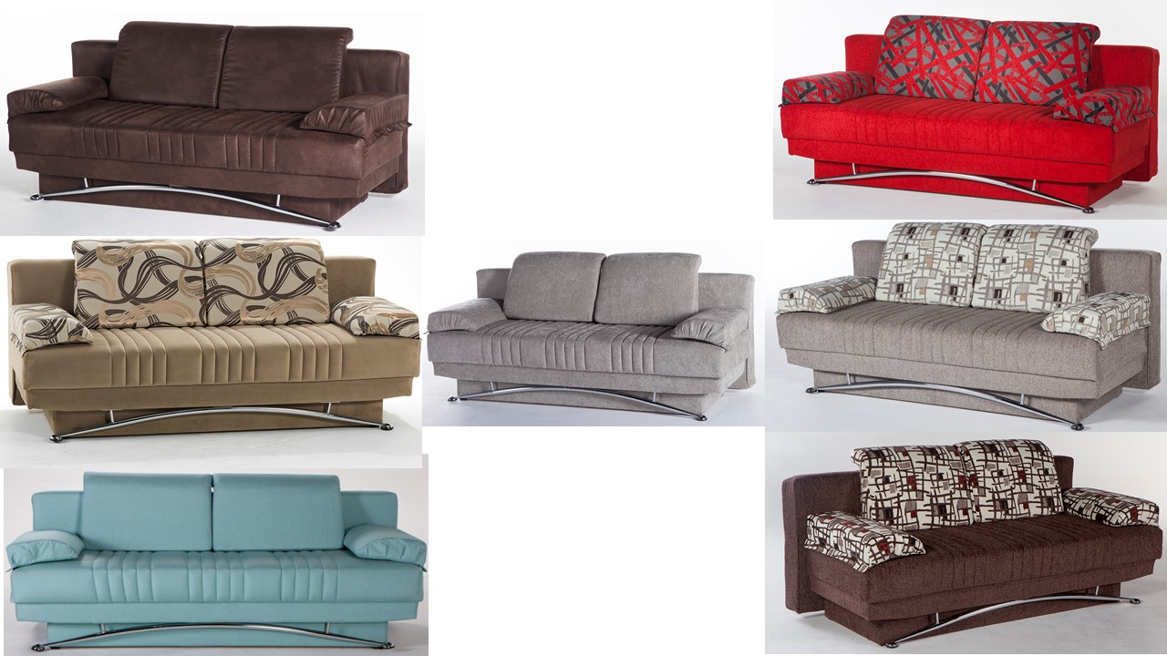 Fantasy Queen Sofa Sleeper Storage