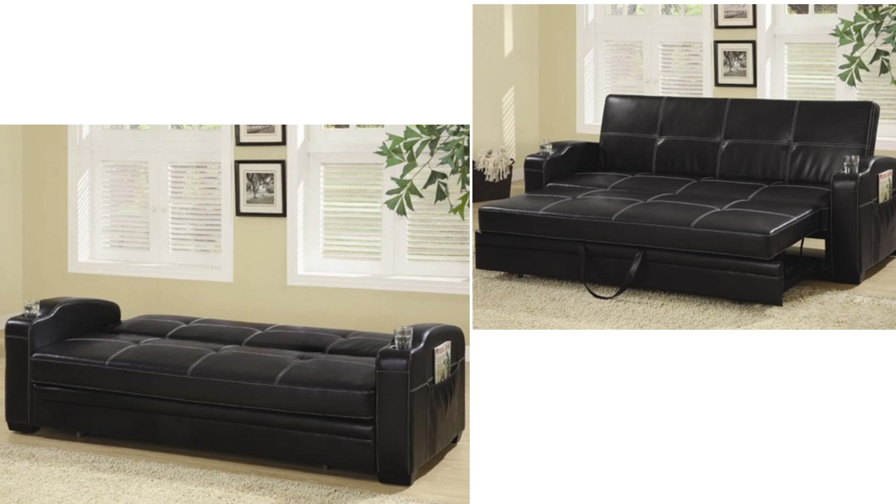 Incredible Leatherette Sofa Bed Upholstered Futons Dc Futon Stores Caraccident5 Cool Chair Designs And Ideas Caraccident5Info