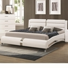 Felicity California King Bed with Metallic Accents