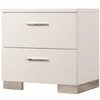 Felicity 203502 Nightstand with 2 Drawers