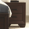 Fenbrook Transitional Two Drawer Nightstand