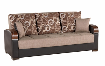 Floor Model Sofa Bed Futon with Storage