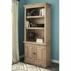 Florence Bookcase with Rustic Finish