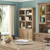 Florence Double Bookcase with Rustic Finish by Donny Osmond Home